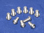 6x Titanium front disc bolts for Ducati