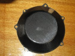 Clutchcover Closed Carbon