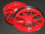 Marchesini 1098Rs 16,5 inch set, Ex Shakey Byrne Althea Team