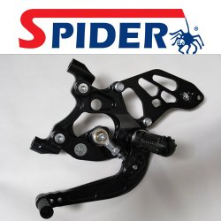 Spider SP57/A Ducati Panigale reverse shift Race Black