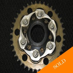 Ducati Sprocket carrier with 39T sprocket. In very good conditio